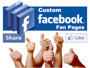 Custom Facebook fan pages for individuals, businesses, bands and public figures.